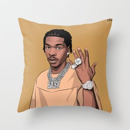4PF Throw Pillow
