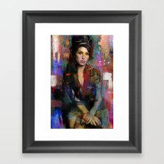 Amy Framed Art Print
