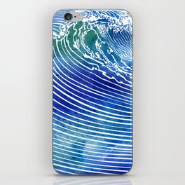 Atlantic Waves iPhone Skin
