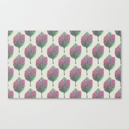 crepe myrtle pattern Canvas Print