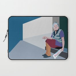 Old woman Laptop Sleeve