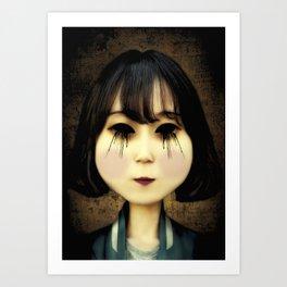 dark look Art Print