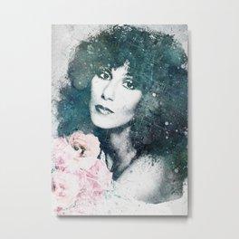 Goddess of Pop Metal Print