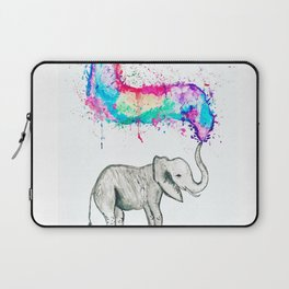 Spray of colour! Laptop Sleeve
