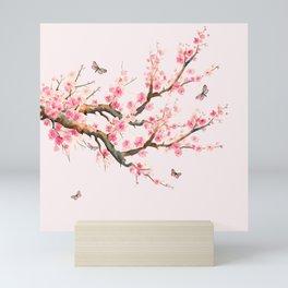 Pink Cherry Blossom Dream  Mini Art Print