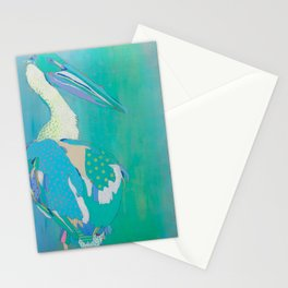 Pyramid Lake White Pelican Stationery Cards