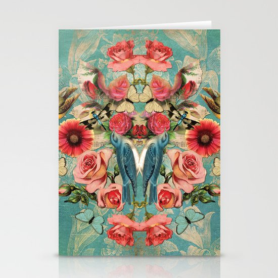 Birds of a Feather 1 Stationery Cards