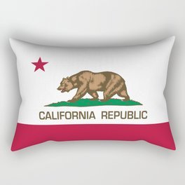California flag, High Quality Authentic Rectangular Pillow
