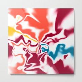 Liquid shapes 4 Metal Print