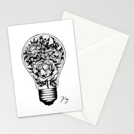 Floral Light Stationery Cards