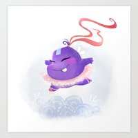 Ballet monster Art Print