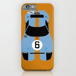 Gulf GT40 iPhone Case