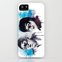 Doc & Marty iPhone Case