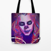 harry Tote Bags featuring Harry by nasalouis