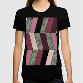 Plum Herringbone #society6 #plum #succulent T-shirt