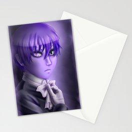 Purple Ciel Stationery Cards