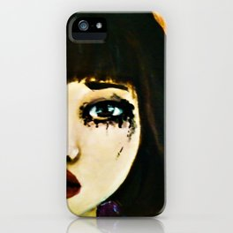 Portrait of a girl (Grown Ups) iPhone Case