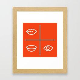Hungergram Framed Art Print