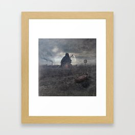 A Life For A Dollar Framed Art Print
