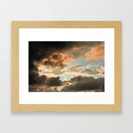 I've Seen Fire & I've Seen Rain Framed Art Print