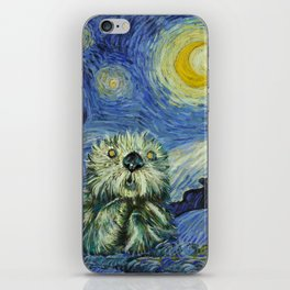 Starry Monterey Night (for Mikaela) iPhone Skin