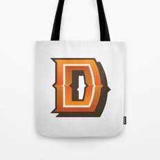 The Letter D Tote Bag