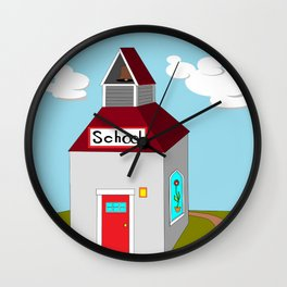 The Ole School House Wall Clock