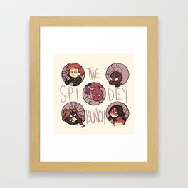 The Spidey Bunch Framed Art Print