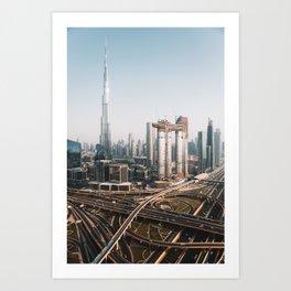 Dubai Skyline | Travel Photography | Art Print