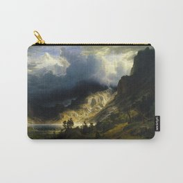 Albert Bierstadt - A Storm in the Rocky Mountains, Mt. Rosalie Carry-All Pouch