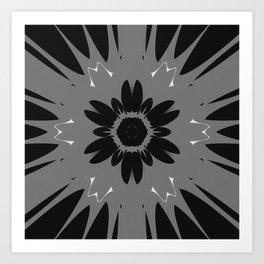 Magnet Flower Art Print