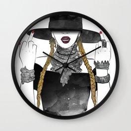 Creole Queen Bey Wall Clock