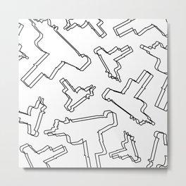 U Z I Metal Print