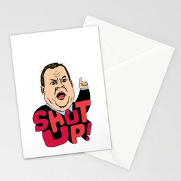 "Christie says ""Shut up!"" Stationery Cards"