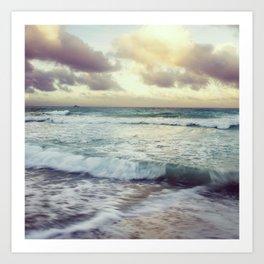 Soft Evening Ocean Photograph Art Print