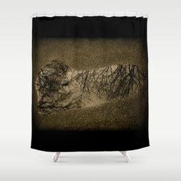 Reflections of a Heart Shower Curtain