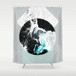 Geometric Textures 2 Shower Curtain