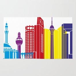 Jeddah skyline pop Rug