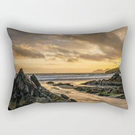 Rocky Beach Rectangular Pillow