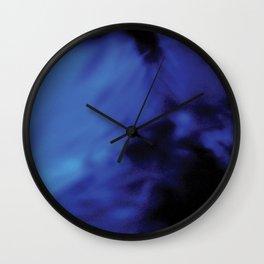 Blue Madness Wall Clock