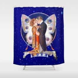 Love By Starlight Shower Curtain