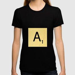 Scrabble A Decor, Scrabble Art Prints, Large Scrabble Prints, Word Wall Art, Home Decor, Wall Decor T-shirt