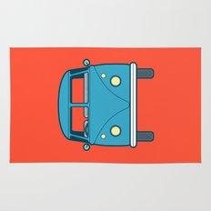#53 Volkswagen Type 2 Splitscreen Bus Rug