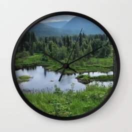 Into the Wild - Road Life Wall Clock