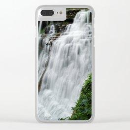 Brandywine Falls Clear iPhone Case