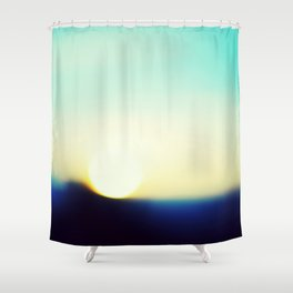 Day Is Done – Winter Sunset  Shower Curtain