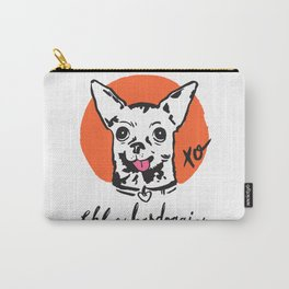 Chloe Kardoggian Illustration with Signature Carry-All Pouch