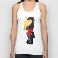 captain hook Tank Tops featuring OUAT - Hook and Emma by Choco-Minto