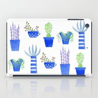 succulents iPad Cases featuring Succulents by Nic Squirrell