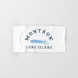 Montauk -Long Island. Hand & Bath Towel